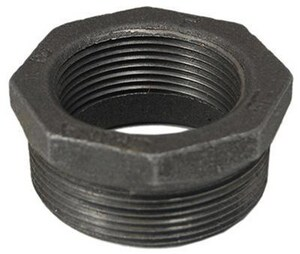 Matco-Norca 3/4 x 1/2 in. MNPT x FNPT 150# Black Malleable Iron HEX Bushing MMBBU0403