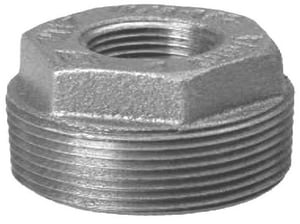 2-1/2 x 3/4 in. MNPT x FNPT Galvanized Malleable Iron Bushing IGBLF