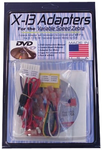 Zebra Instruments Motor Adapter for Zebra VZ-7 Variable Speed Zebra ZVZH03