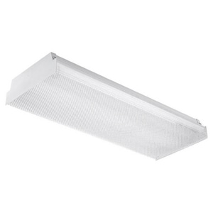 Seagull Lighting 24 in 34W 2-Light Fluorescent Medium Bi-Pin Linear Ceiling Fixture in White S59033LE15