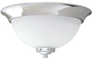 Mirabelle® Edenton 6-1/2 in. 60 W 2-Light Medium Flush in Polished Chrome MIRMLEDFMLGT