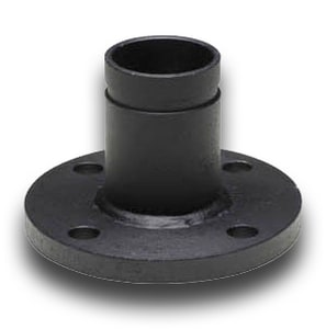 CTS Fabrication 4 in. Flanged x Grooved Carbon Steel Adapter in Black CBSRG004