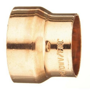 4 x 3 in. DWV Wrot Copper Coupling CDWVRCPM