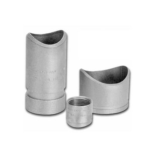 1 x 2-1/2 - 3 in. FPT 300# Domestic Carbon Steel Threadolet A0363190265