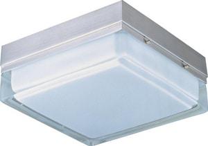 Maxim Lighting International 18 W 2-Light Flush Mount Ceiling Fixture in Satin Nickel M53136WTSN