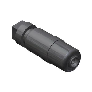 Continental Industries Con-Stab ID Seal® 1/2 in. CTS Straight Polypropylene Cap-N-Go Coupling C325957100400