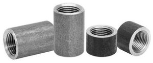 1/4 in. Threaded Steel Tapered Black Malleable Coupling BSCTTB