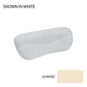Jacuzzi Curved Tub Pillow in Almond JC263958