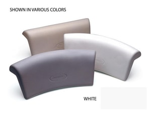 Jacuzzi Foam Pillow Curved in White JC263959