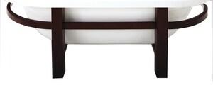 JACUZZI® Era™ 62-1/25 x 36-1/50 in. Wood Frame for Jacuzzi Era 6636 Bath Tub JEV11000