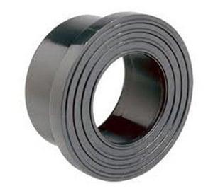 3 x 4 x 8 in. Standard Reducing PVC Closing Lead Stub Out LPVCSMPX