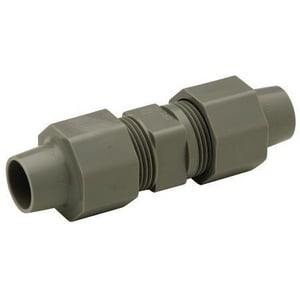 Zurn PEX Qicktite® 1/4 in. Compression Straight Assembly Plastic Coupling QQAC