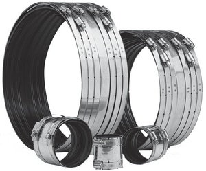Clamp-All 3 in. Clamp Stainless Steel Hubless Pipe Coupling C81030