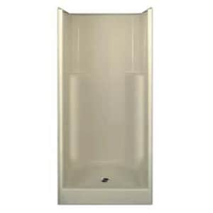 Aquarius Industries Luxury 36 x 36 in. Shower in White AG3679SHP3WH