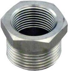 1-1/2 x 3/4 in. Threaded 150# 304 Stainless Steel Bushing DS4BSTBSP114JF