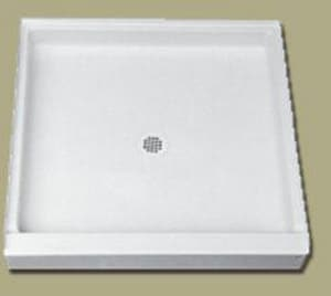 Florestone Saflor® 36 in. Rectangle Shower Base in White F36341WH