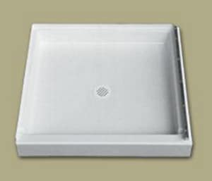Florestone Saflor® 34 x 42 in. Shower Receptor in White F42342LWH