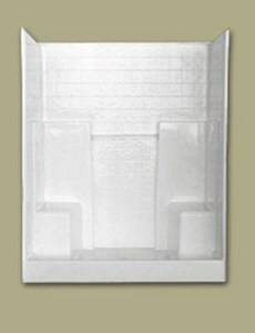 Florestone 35 x 60 in. Shower in White F603WTBWH
