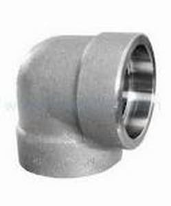 3/4 in. Socket 3000# Carbon Steel Forged 90 Degree Elbow IFSS9FE