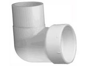 Slip Straight Schedule 40 PVC 90 Degree Elbow IP40S9