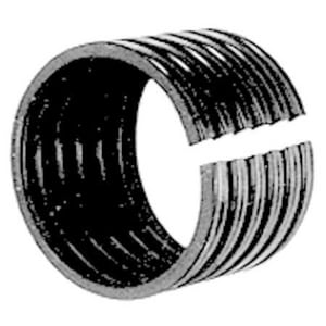 Advanced Drainage Systems N-12® 6 in. Split Straight HDPE Coupling A65AA