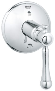 GROHE® Bridgeford™ 3-Port Diverter Trim with Single Lever Handle G19325