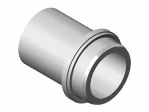 6 in. Mechanical Joint DIPS Straight DR 11 Plastic Adapter Only PED11MJA