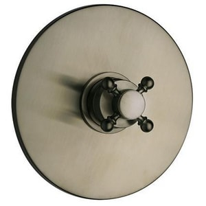 Fortis Caffe Shower Trim Only with Single Cross Handle in Brushed Nickel F8868700BN