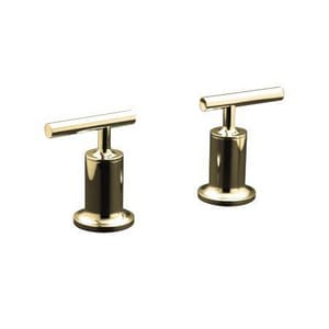 Kohler Purist® Deck or Wall-Mount Bath Trim with Lever Handles Only, Valve Not Included in Vibrant Polished Nickel KT14429-4-SN