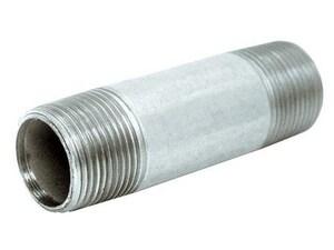 1-1/2 x 6 in. NPS Extra Heavy Galvanized Steel Nipple GXNJU