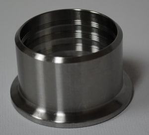 VNE Corporation 1-1/2 in. Clamp 304L Stainless Steel Expanded Ferrule VEG14R4