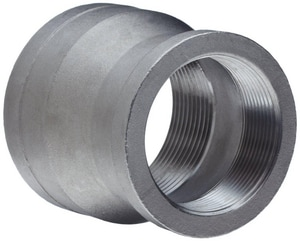 1 x 3/4 in. Threaded 3000# Reducing 316L Stainless Steel Coupling IS6L3TRCGFE