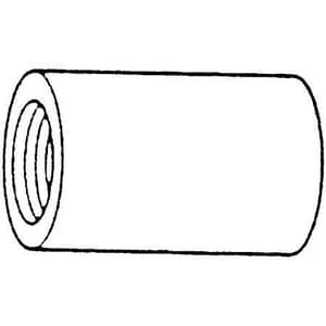 1/2 in. Threaded 150# 304 Stainless Steel Coupling DS4BSTCSP114D