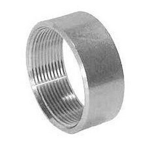 1/4 in. Threaded Lap Joint 150# 304 Stainless Steel Half Coupling IS4TMHCSP114