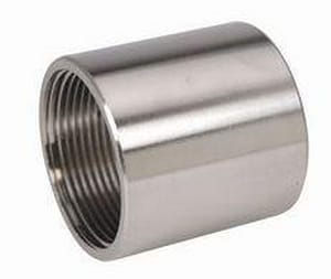 1-1/2 x 2-9/100 in. Threaded 150# 316 Stainless Steel Coupling IS6CTC209J