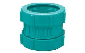 Zurn Corrosive Waste Drainage 2 in. Mechanical Joint Straight Schedule 40 Polypropylene Coupling ZZ9ACMK