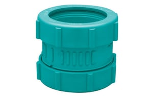 Zurn Corrosive Waste Drainage 2 in. Mechanical Joint Straight Schedule 40 Polypropylene Coupling ZZ9ACMK