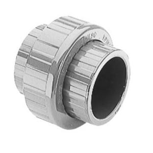 2000 Series 3/4 in. Socket Straight Schedule 80 PVC Union with EPDM O-Ring Seal S897007 at Pollardwater