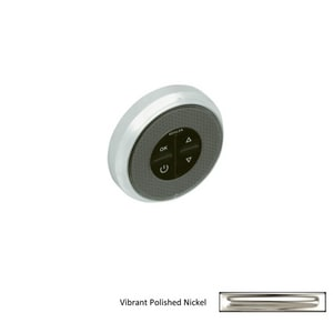 KOHLER Round Whirlpool Control Trim in Polished Nickel K9498-SN