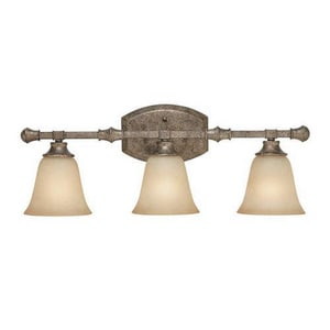 Capital Lighting Belmont 6-1/2 in. 100 W 3-Light Medium Bath Bracket in Creek Stone C1333CS287