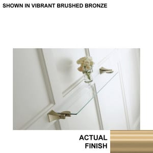 KOHLER Memoirs® Glass Shelf in Vibrant Brushed Bronze K488-BV