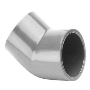 817 Series 2-1/2 in. Socket Straight Schedule 80 PVC 45 Degree Elbow S817025