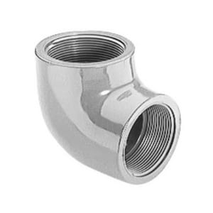 1-1/2 in. FIPT Threaded Straight Schedule 80 CPVC 90 Degree Elbow S808015C
