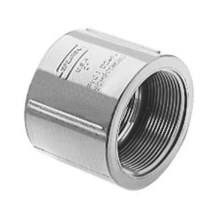 830 Series 2-1/2 in. FNPT Straight Schedule 80 CPVC Coupling S830025C