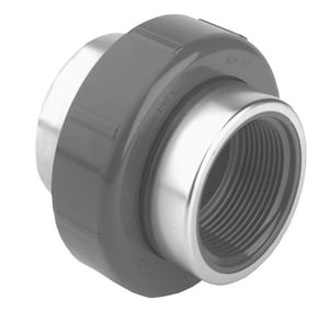 2000 Series 4 in. SR FIPT Straight Schedule 80 PVC Union with EPDM O-Ring Seal S8098040SR