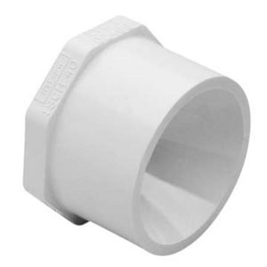 3/4 in. Spigot Straight Schedule 40 PVC Plug S449007