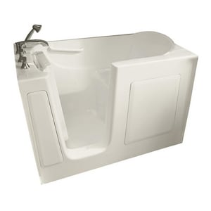 Safety Tubs 60 x 30 x 38 in. Gelcoat Walk-In Jet Massage Tub with Left Hand Drain in Biscuit SSS6030LJBC