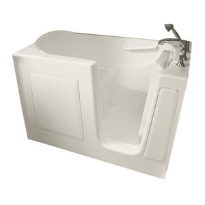 Safety Tubs 60 x 30 x 38 in. 75 gal Gelcoat Freestanding Walk-In Bathtub with Right Hand Drain in Biscuit SSS6030RSBC