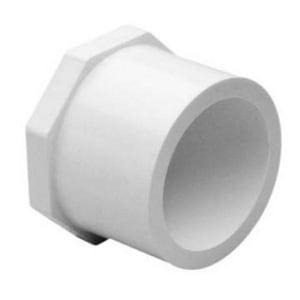 2 x 1 in. Spigot x Socket Reducing Schedule 40 PVC UVR Bushing S437249UV