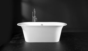 Victoria & Albert Bath Monaco 69 x 32 in. Double Ended Free Standing Tub in White VMONNSW